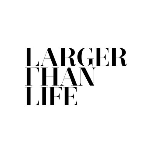 Larger Than Life logo